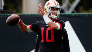 49ers' Garoppolo says path to the Super Bowl has been a wild ride
