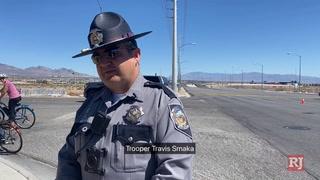 Motorcyclist killed in crash in southwest Las Vegas – Video