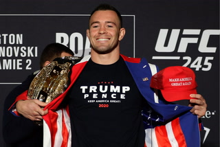 Covington: I enjoy the boos, that gives me extra inspiration