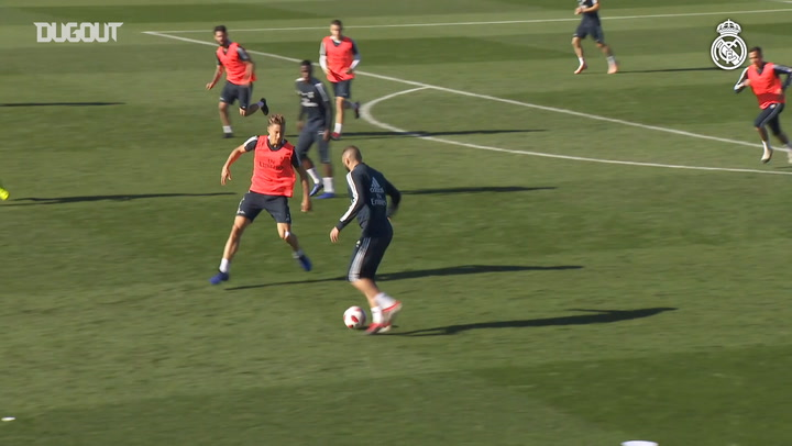 Real Madrid's Training Goals Of The Week #1