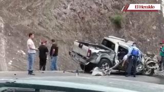 Tres muertos y un herido en accidente vial en Zambrano