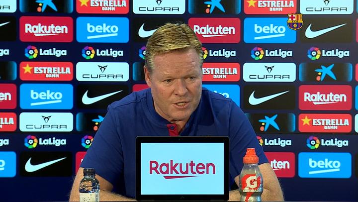 Koeman no espera a un Madrid vulnerable