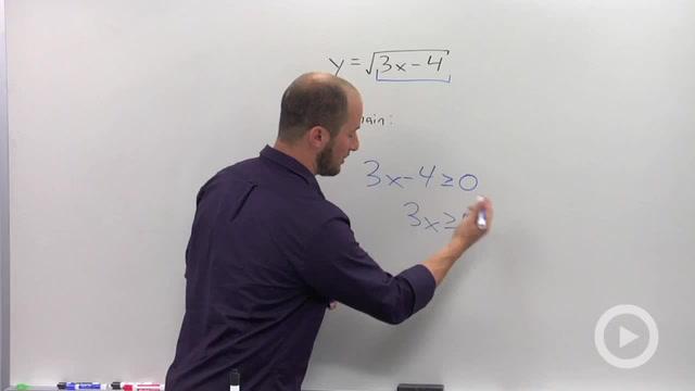 Domain and Range - Problem 2