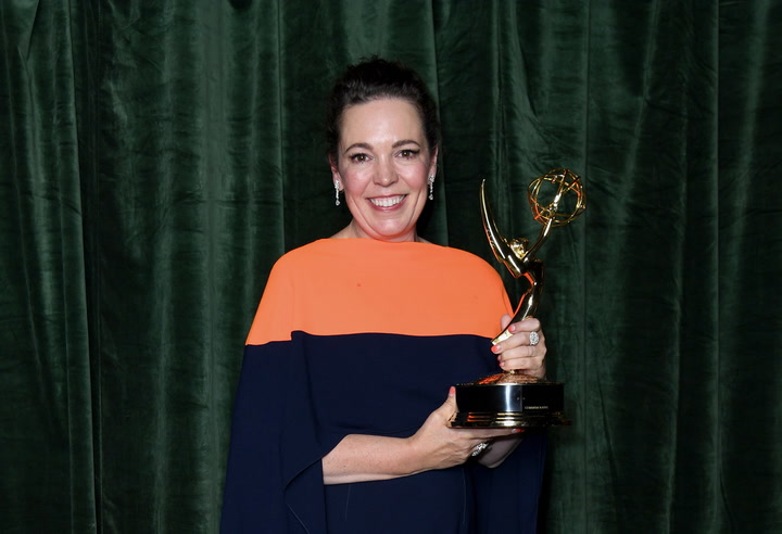 The Crown wins top drama prize at Emmy Awards on night of British success