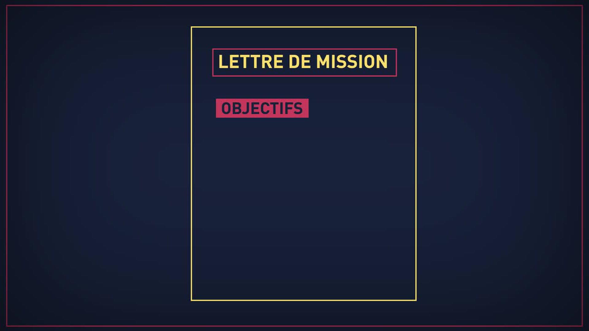 La Lettre De Mission Définition Conception