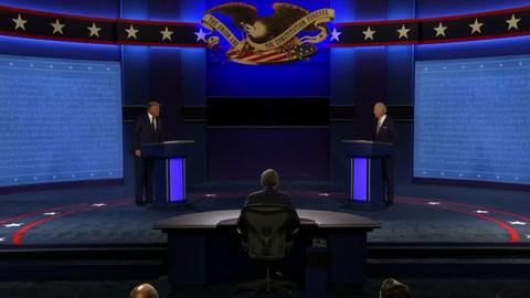 Biden se enfrenta a Trump en el primer debate en EEUU