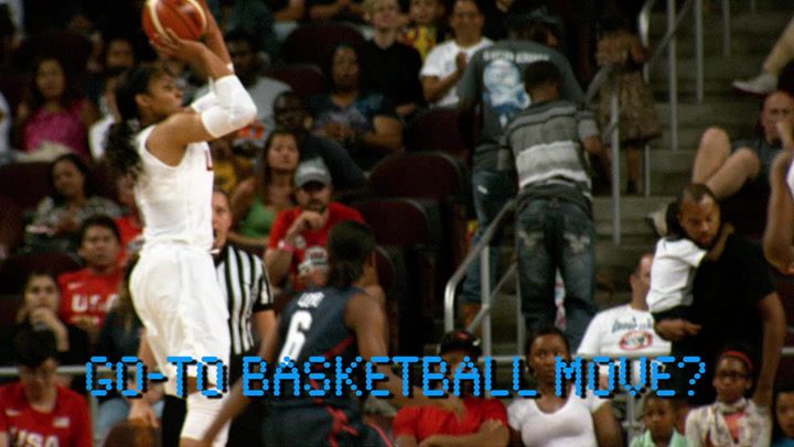 Take a Q&A Fast Break with Maya Moore