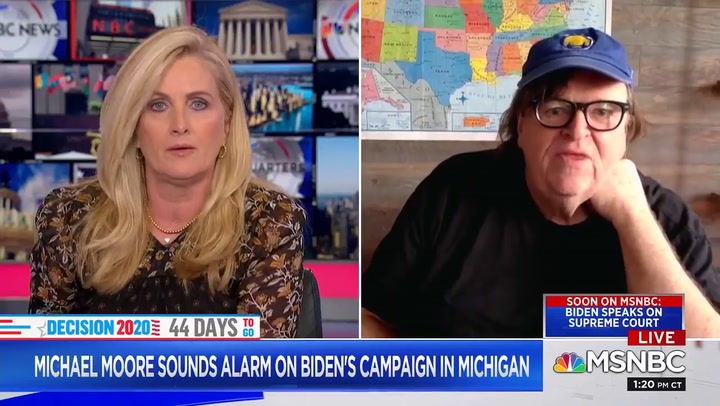 Michael Moore to Biden: 'Why Are you Ignoring the Black Community' in Michigan