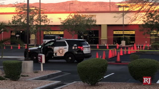 Las Vegas police are investigating a homicide