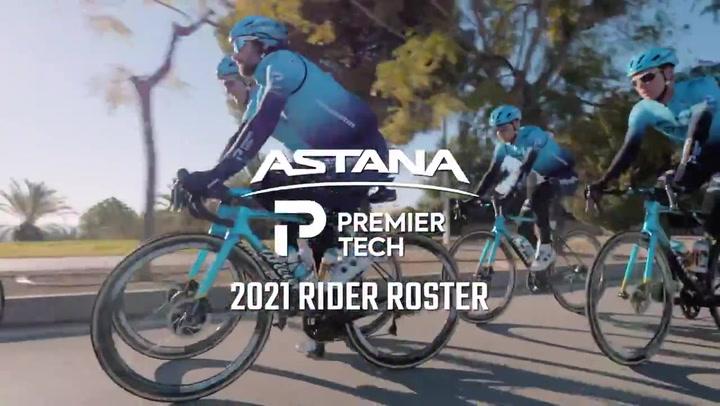 El nuevo Astana – Premier Tech se presenta con muchas novedades y ambición