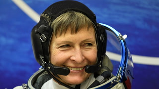 A woman just set the record for most time in space