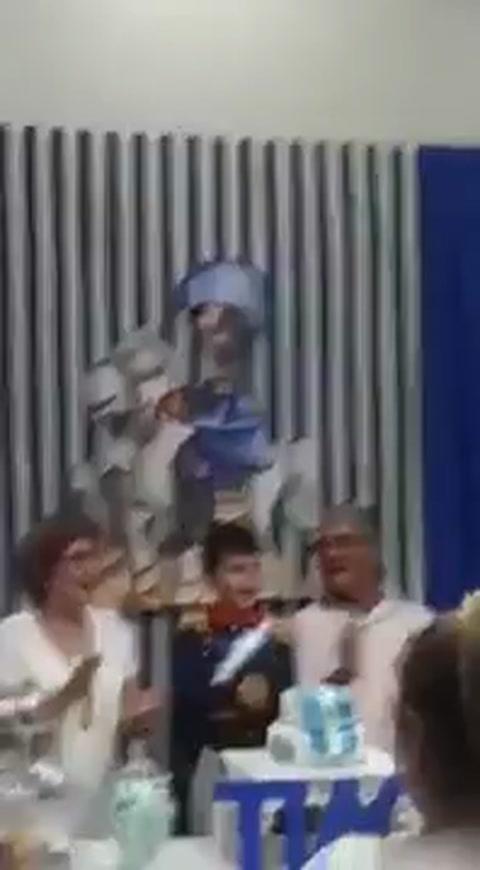 Festejó su cumpleaños nº 7 con San Martín como temática