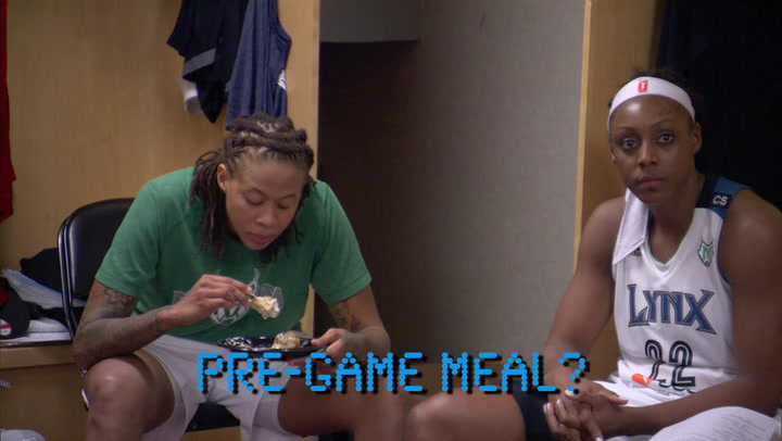 Take a Q&A Fast Break with Seimone Augustus
