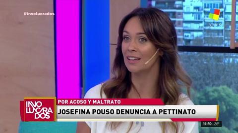 Josefina Pouso: Pettinato quiso tocarme