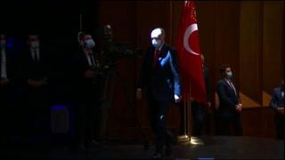 Presidente de Turquía llama a un boicot contra productos franceses