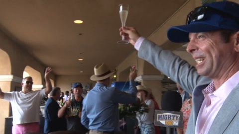 Kaplan: What it's like to win the first race on Opening Day at Del Mar