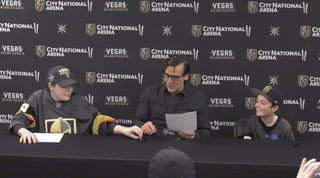 Golden Knights Grant the Wishes of Young Fans – VIDEO