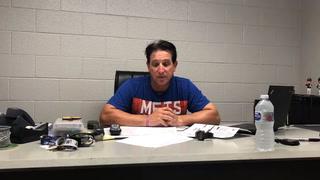 Tony DeFrancesco talks about the win over Reno