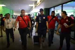 Keylor Navas y Costa Rica arriban a Guatemala para el amistoso de este viernes