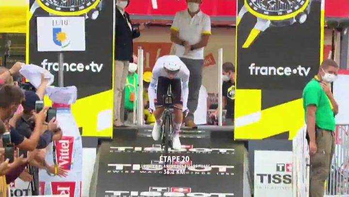 Resumen de la etapa 20 del Tour con victoria de Pogacar