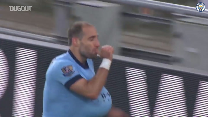 Manchester City's best goals by Argentinian players