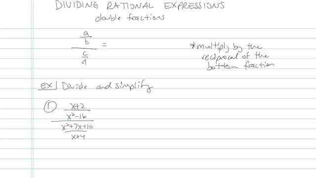 Multiplying and Dividing Rationals - Problem 11