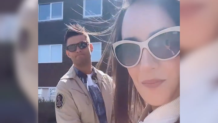 Janette Manrara has perfect spring fashion for romantic Windsor date