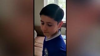 Padre trolea a su hijo cortándole el pelo como Ronaldo Nazario y no como CR7