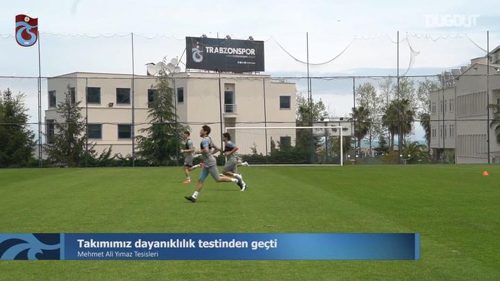Trabzonsporlu Oyuncuların Dayanıklılık Testi