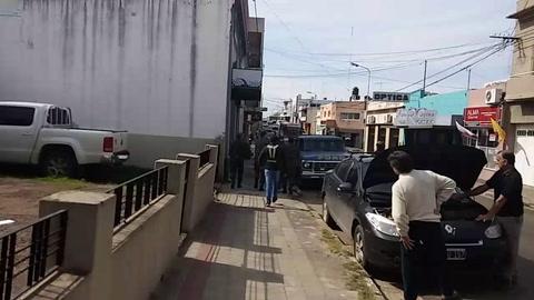Intensa persecución de un evadido por las calles de Concordia