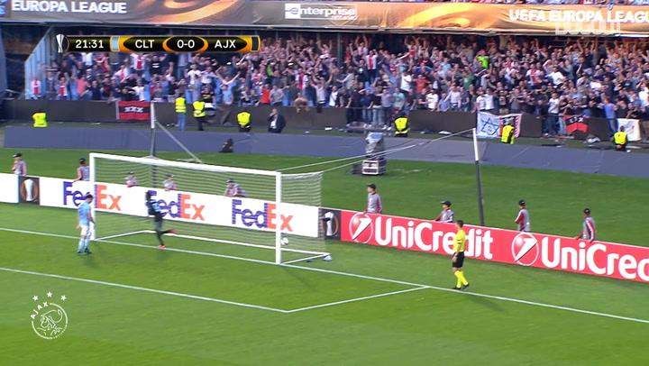Hakim Ziyech's sublime solo goal vs Celta Vigo