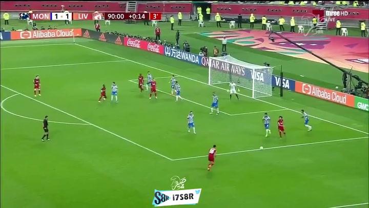 Firmino marca el 2-1 para el Liverpool ante el Monterrey