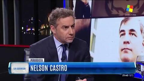 Nelson Castro señaló que es malo que no esté Víctor Hugo
