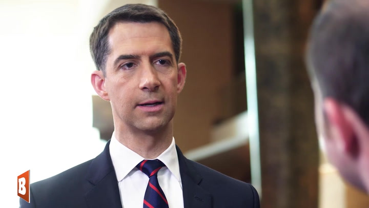 Tom Cotton Calls Out Hollywood for Appeasing China