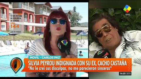 Silvia Peyrou, tras los dichos de Cacho Castaña: Fui violada a los 16 y recién pude contarlo a los 21