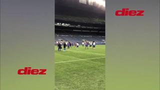 Olimpia afinó detalles en el CenturyLink Fiel y está listo para medirse al Seattle Sounders