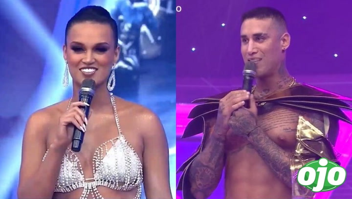 """Angie Arizaga confiesa que Jota Benz se le declaró en Año Nuevo: """"estoy enamoradísima"""" │VIDEO"""