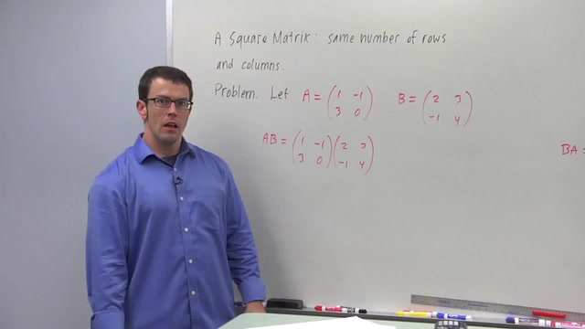 Square Matrices - Problem 1