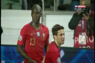 ¡GOLAZO DE PORTUGAL! Danilo pone el empate 1-1 ante Serbia