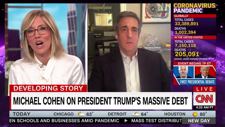 Michael Cohen: Trump 'May End Up Doing the Next Century' in Prison for Tax Evasion