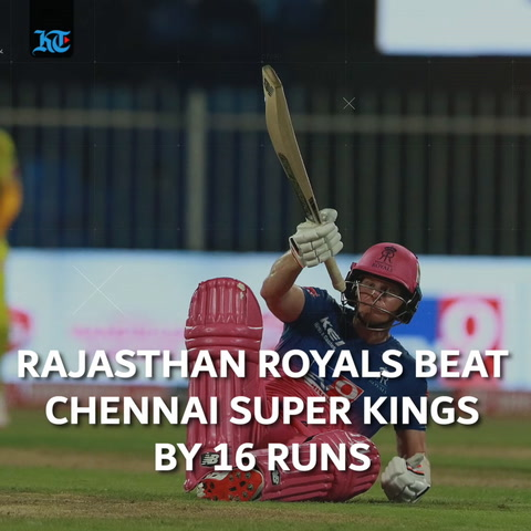 IPL Wrap: Rajasthan Royals beat Chennai Super Kings by 16 runs