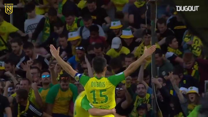 Léo Dubois' winner vs Strasbourg