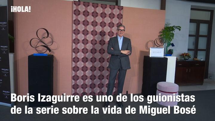 ¿Quién será el actor protagonista? Boris Izaguirre desvela los primeros detalles sobre la nueva serie sobre Miguel Bosé