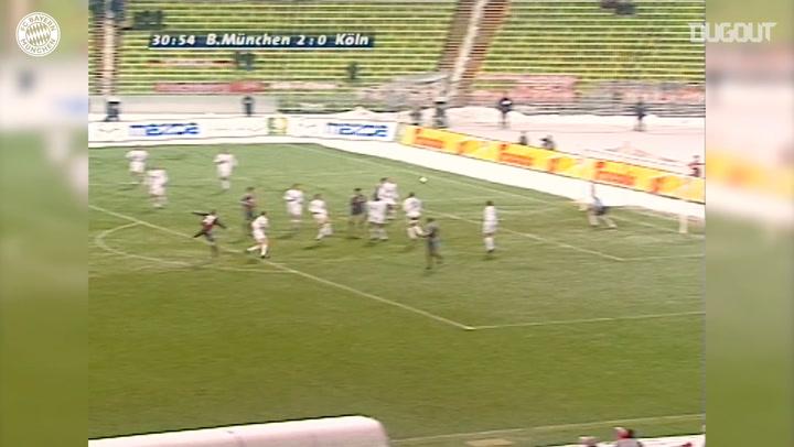 Debut Goals: Bastian Schweinsteiger Vs Köln
