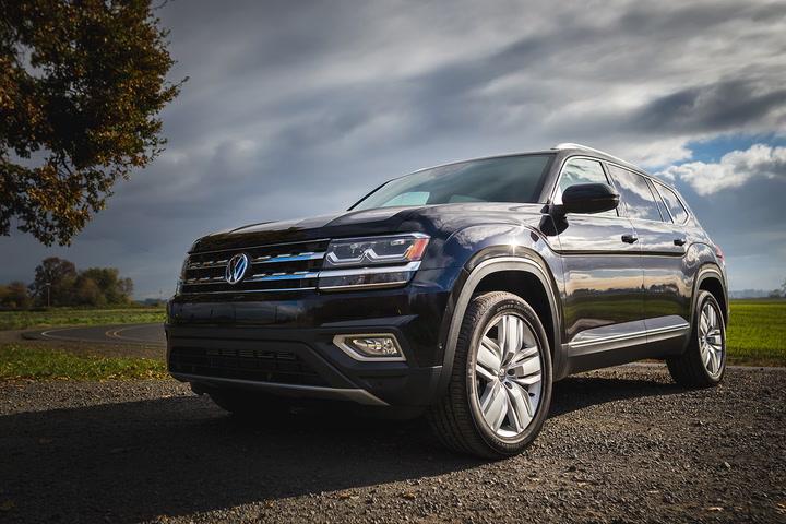 2018 Volkswagen Atlas Review Pictures Specs Performance