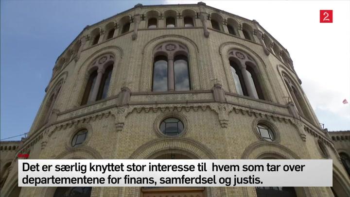 Stortingets fasade