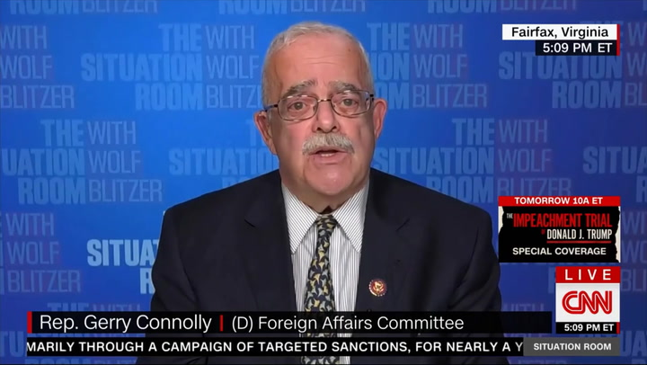 Connolly: 'I Don't Think You Need Witnesses' in Senate Impeachment Trial