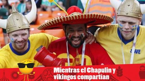 EHmojicrónica: Suecia le propina paliza a México pero están en octavos