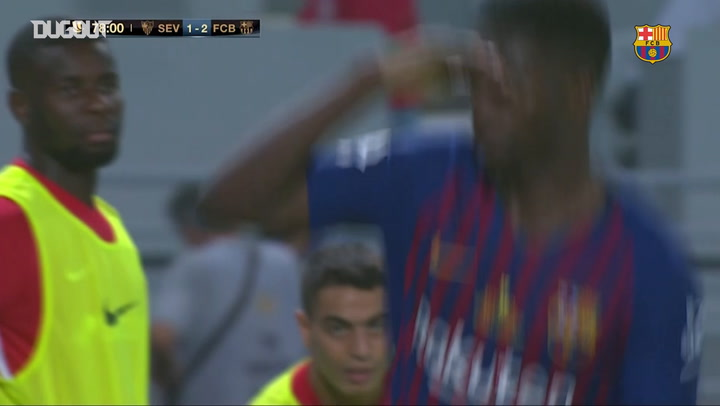 Ousmane Dembélé's thunderbolt seals Spanish Super Cup for Barcelona