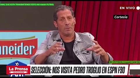 La reacción de Pedro Troglio al ver mensaje de su madre y la bronca contra Diego Vázquez